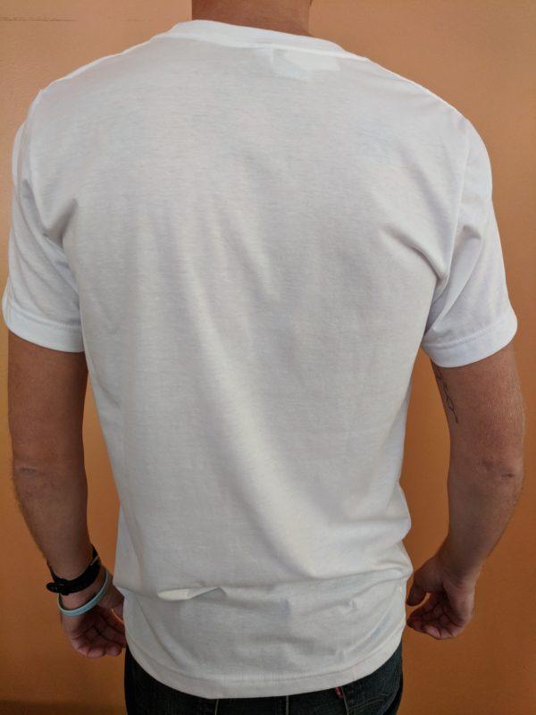 White Shoes & Brews logo shirt back