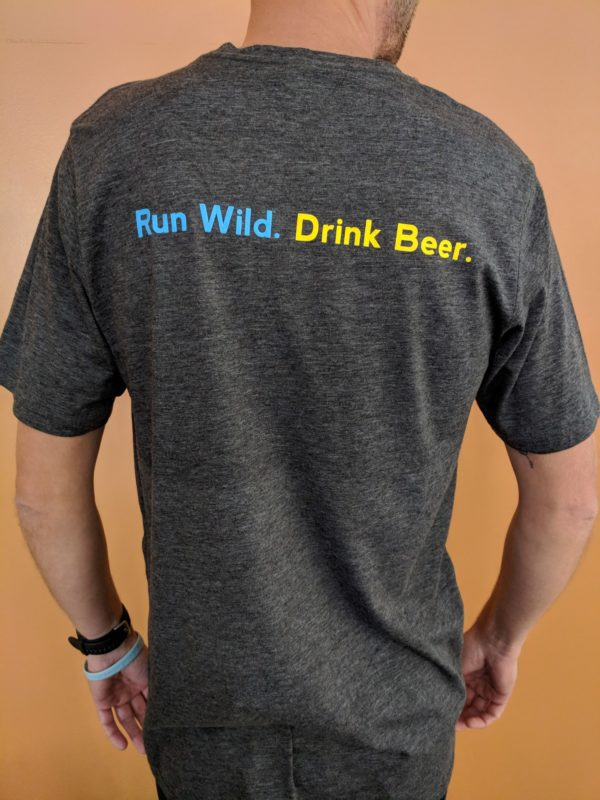 Shoe & Pint Glass Logo Shirt - Back