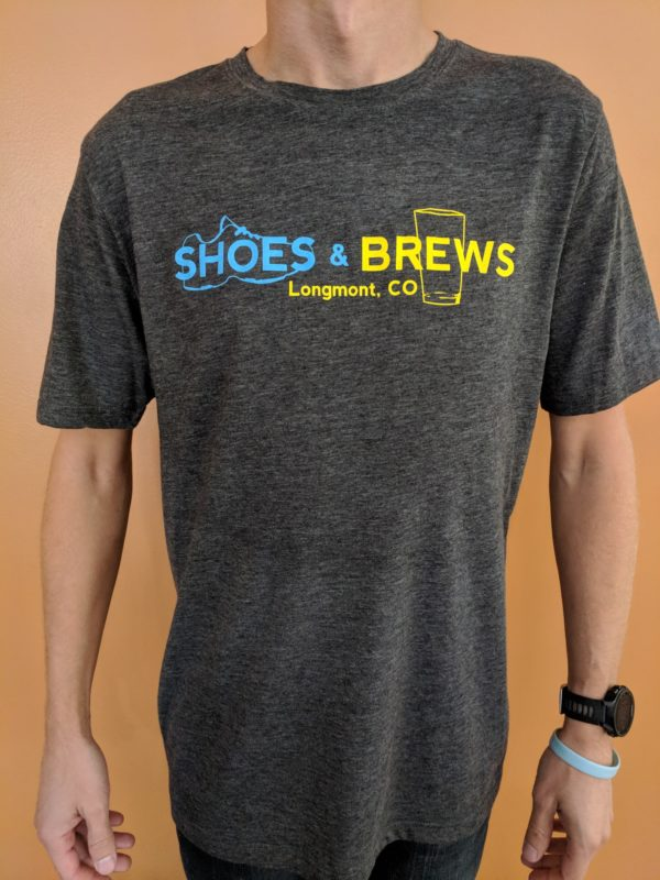 Shoe & Pint Glass Logo Shirt - Front