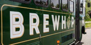 Brew Hop Trolley Logo